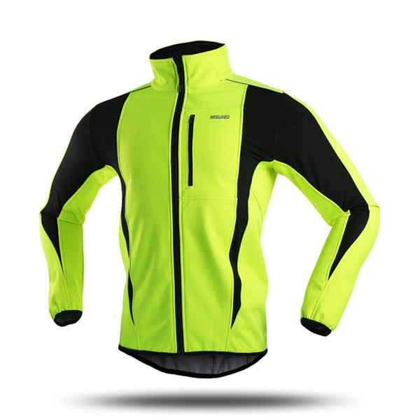 ARSUXEO Thermal Sport Jacket Windproof Skiing Cycling Bike Bicycle