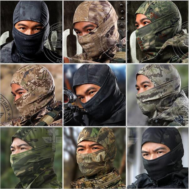 CS Force Tight Balaclava Face Mask Tactical Airsoft Hunting Outdoor
