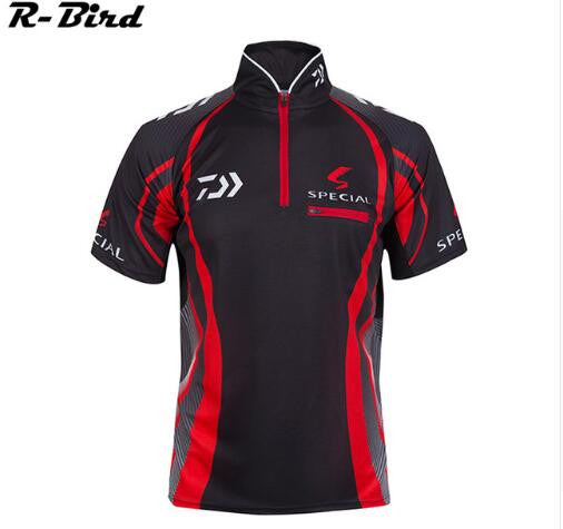 Brand Fishing Clothes 2016 New DaiWa Fishing Shirt Short Sleeves