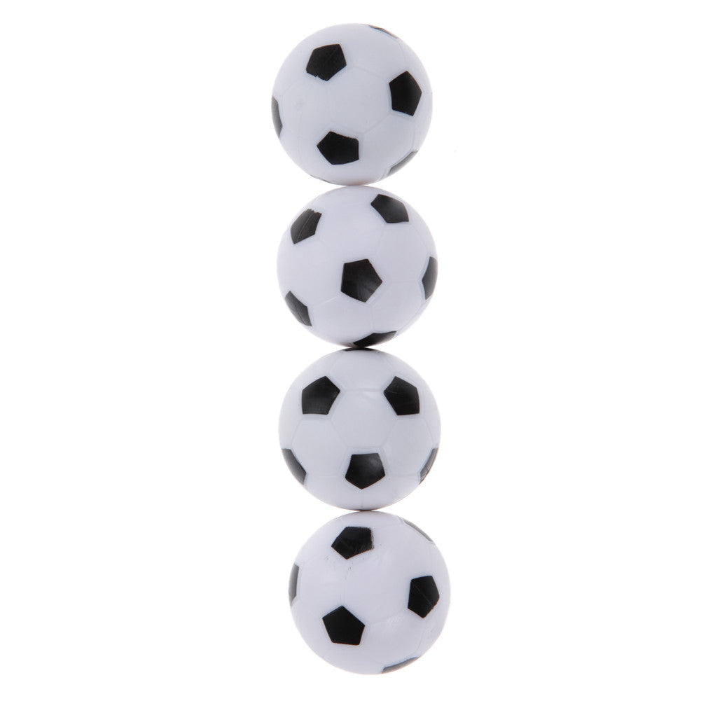 Durable 4Pcs/Set 36mm Plastic Soccer Table Foosball Replacement Ball