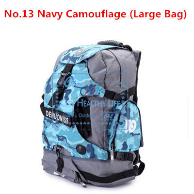 DC Skating Backpack for Inline Skates Bag Large Middle Size Bags