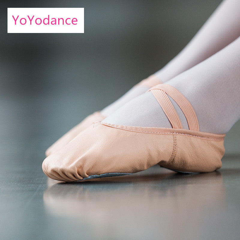 Brand New Genuine Leather Ballet Dance Shoes Professional Soft