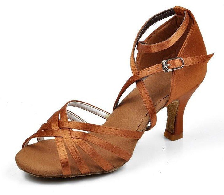 Brand New Women's Ballroom Latin Tango Dance Shoes heeled Hot Sales