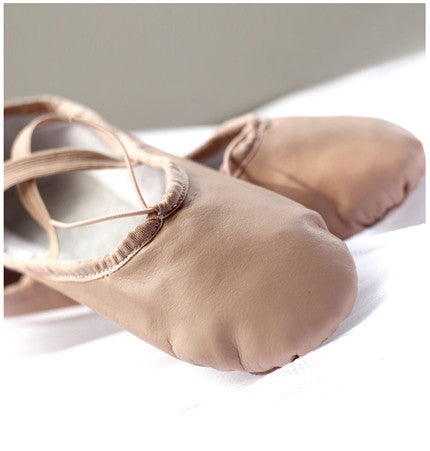Brand New Leather Ballet Dance Shoes Professional Soft Women Ballet