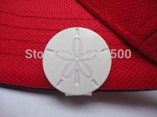 Free Shipping Sand Dollar Golf Ball Marker - W/Bonus Magnetic Hat