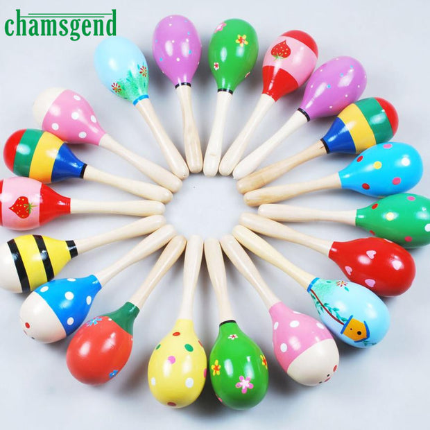 High Quality  Mini Wooden Ball Children Toys Percussion Musical
