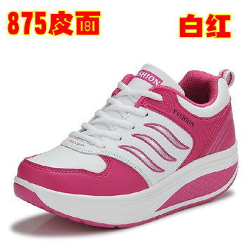 outdoor women running shoes swing platform ladies trainers fitness