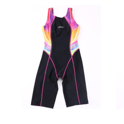 Children Swimming Clothes 2016 Girls Sports Swimsuit One-piece