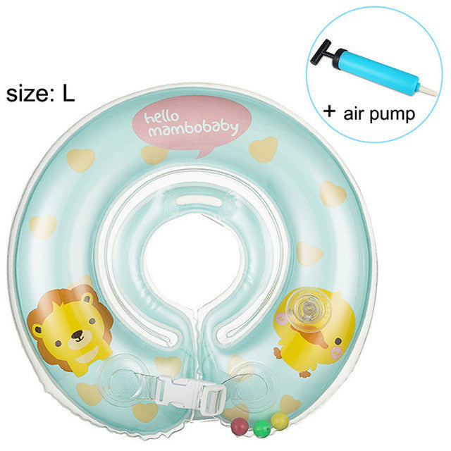 Baby Neck Float Swimming Newborn Baby Swimming Neck Ring with Pump