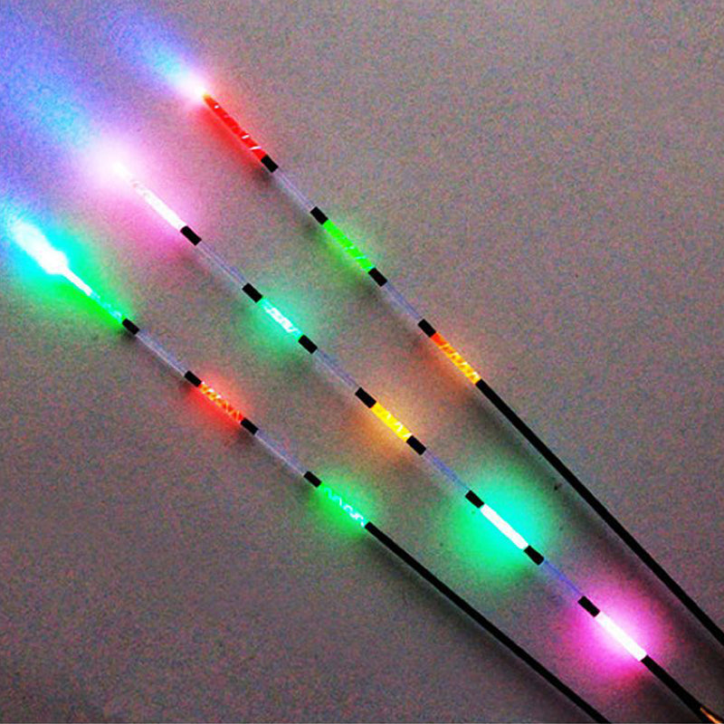 3pcs Led Electronic Fishing Float + Battery  Night Vision Electric