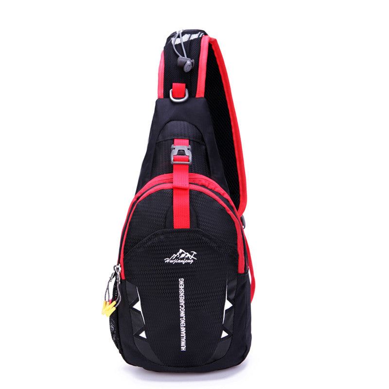 Canvas Chest Bags Crossbody Shoulder Waterproof Sports Running
