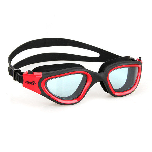 Copozz Swim Goggles Male Female Swimming Glasses Anti-Fog Waterproof