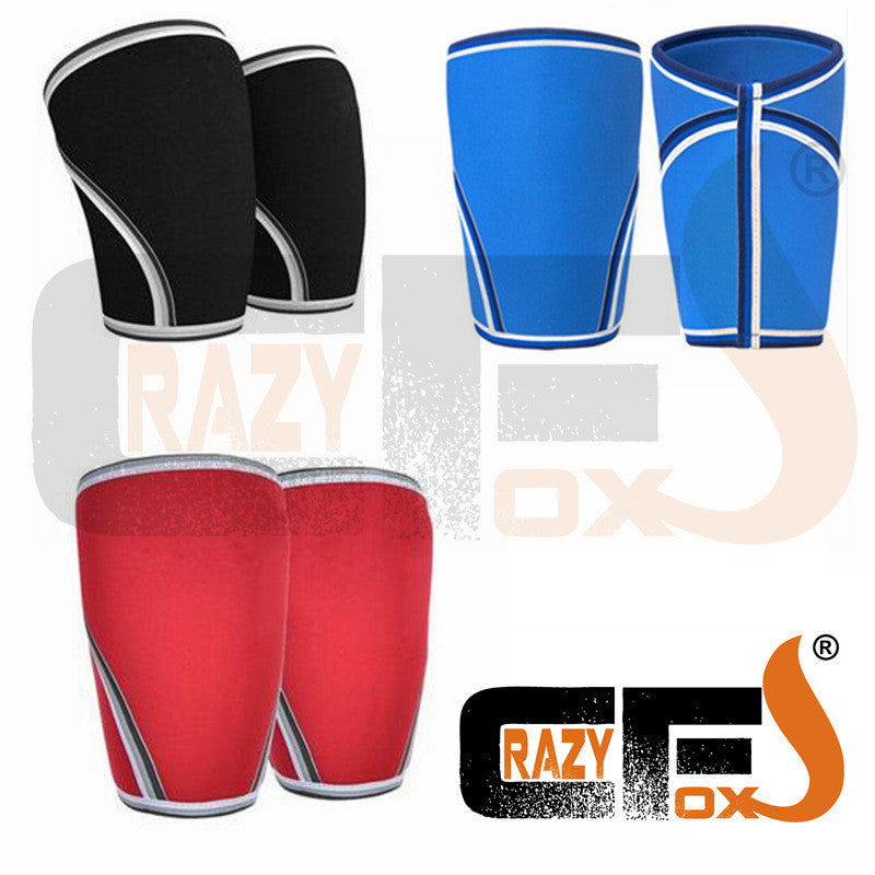 [A PAIR / 2 pieces] 7mm Custom compression 7mm neoprene knee sleeve