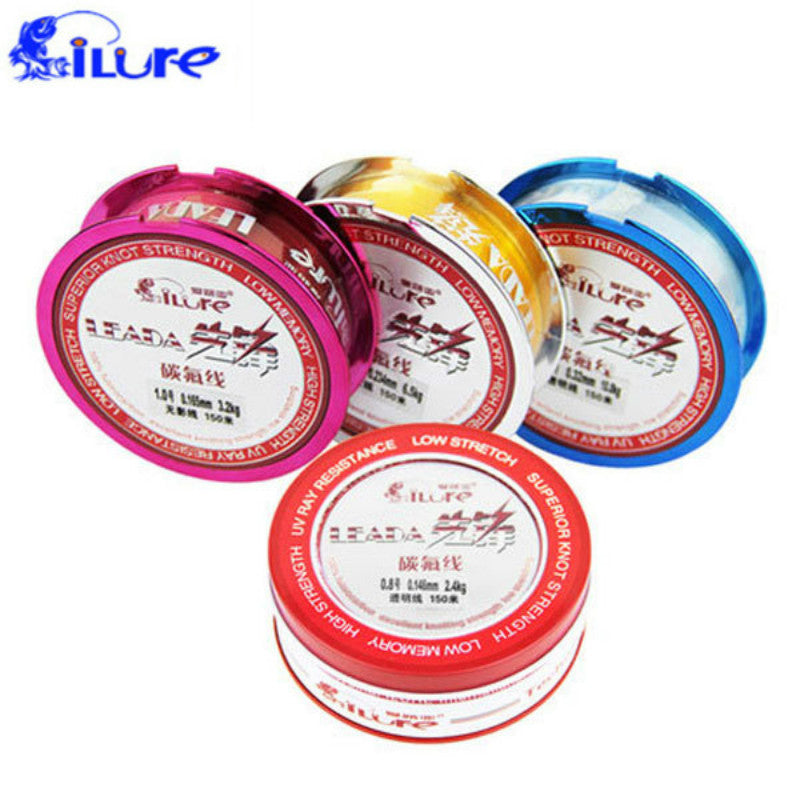 Fishing Line Fluorocarbon Fishing 150m High Quality Japanese