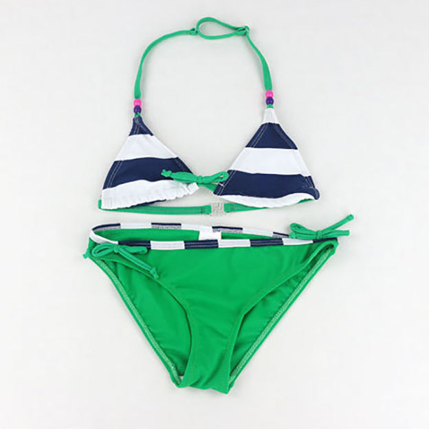 2017 New Cute Baby Bikini Girls Swimwear Kids Two Pieces Swimsuit