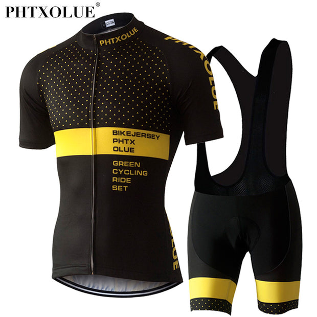 Phtxolue Cycling Clothing Cycling Sets Bike Clothing/Breathable Men