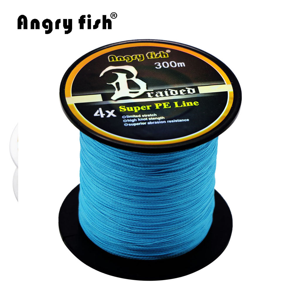 Wholesale 300 Meters 4x Braided Fishing Line 11 Colors Super PE Line