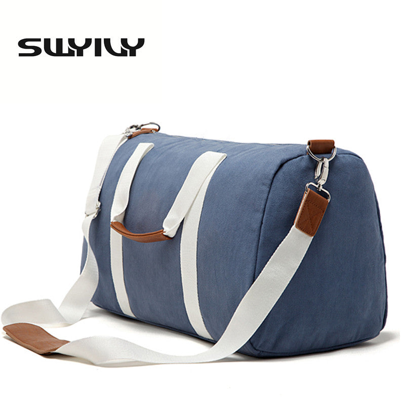 Canvas Fitness Gym Bag Men Training Sports Bag Women Traveling
