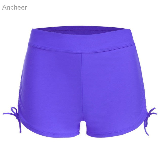 Avidlove 2017 Summer Women Swimming pants Swim Boyshorts sexy Solid