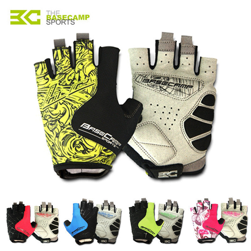 BASECAMP Cycling Gloves Half Finger Men Women Gel Pad Summer Sport