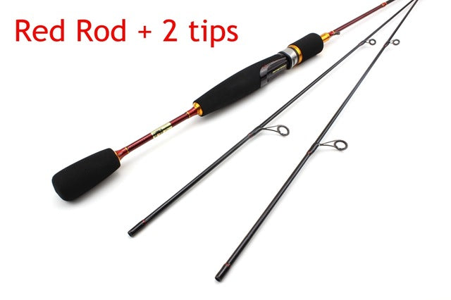 cheap ul spinning rod 2-6g lure weight ultralight spinning rods line