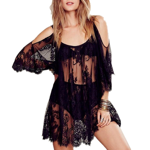 2017 New Women Summer Swimsuit Beachwear Bikini Beach Cover ups