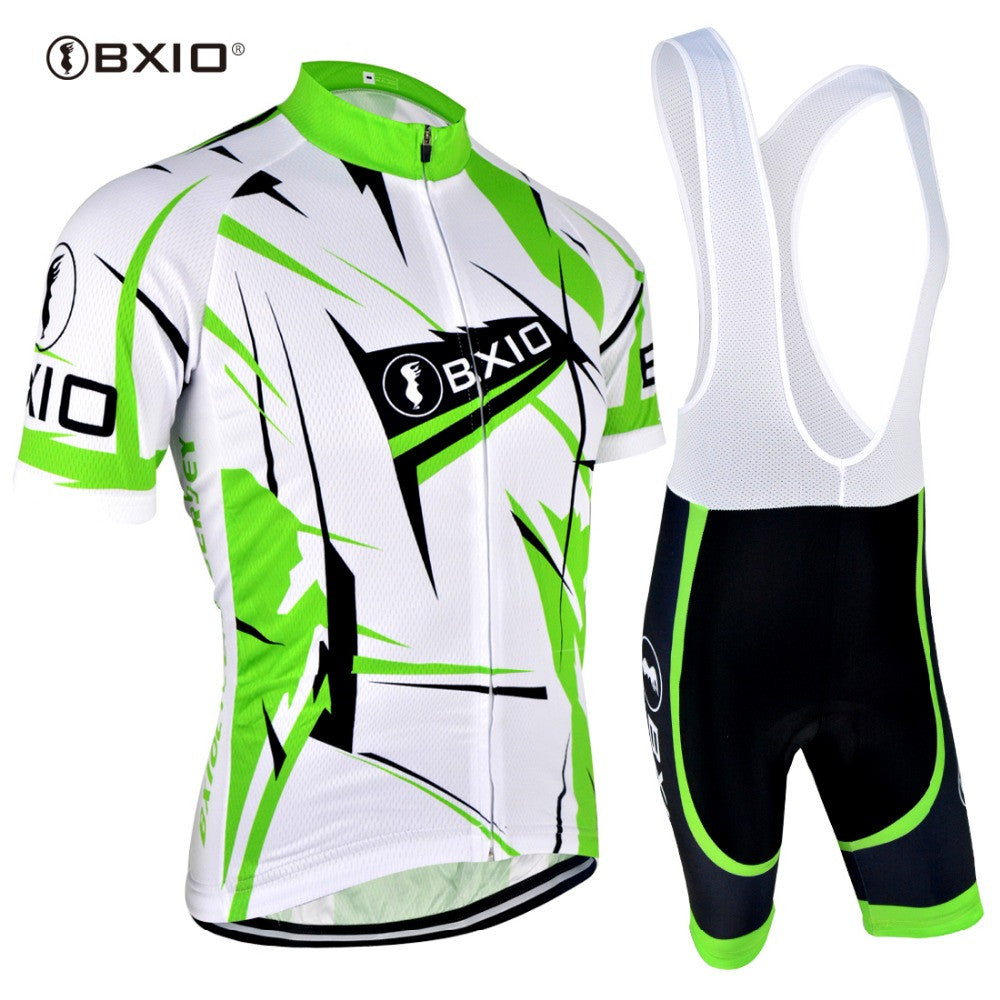 BXIO Cycling Jersey Sets China 2017 Pro Tour Bicycle Salopette