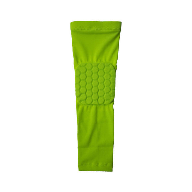 Breathable Sports Elbow Protectors Crashproof Honeycomb Basketball