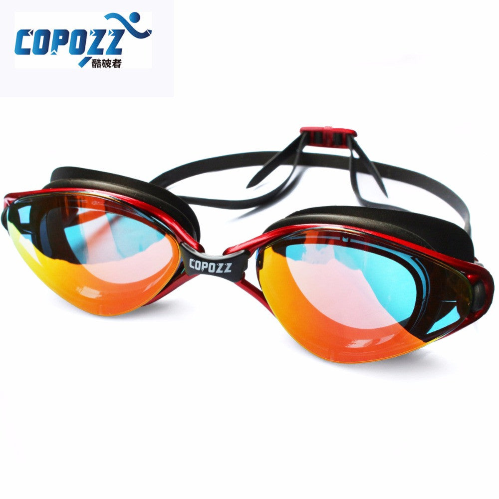Copozz New Professional Anti-Fog UV Protection Adjustable Swimming