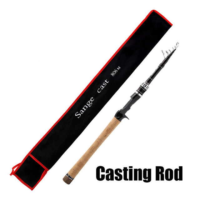 SeaKnight Sange Fishing Rod 2.1M/2.4M M Power Carbon Fiber