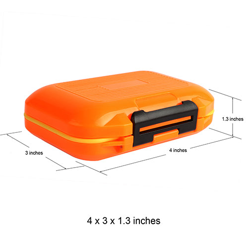 Goture Double Layer Hard Plastic Fishing Box For Baits or Sinkers Lure