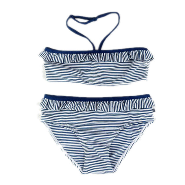 6-15 Years old Children girl swimwear Teenage girl two pieces swimsuit