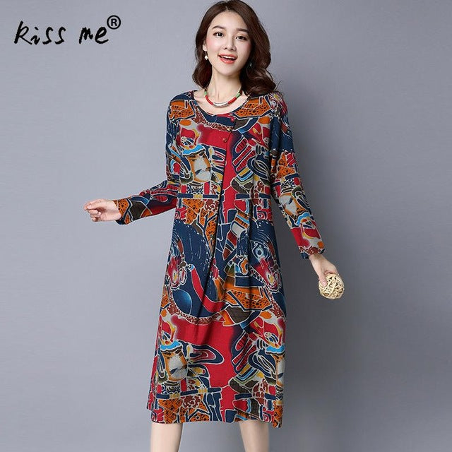 2017 New Arrivals Beach Caftan Swimsuit Cover up Print Hemp loose
