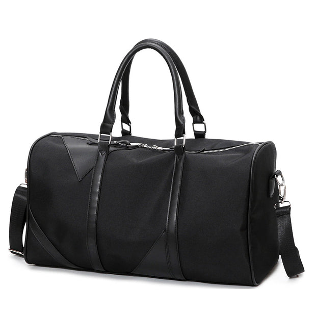 New Black Sports Fitness Gym Bag Women Waterproof Oxford Tote Handbags