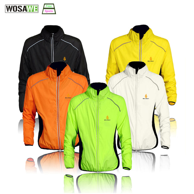 WOSAWE Cycling Windbreaker Jacket Cycling Motocross Riding Outwear