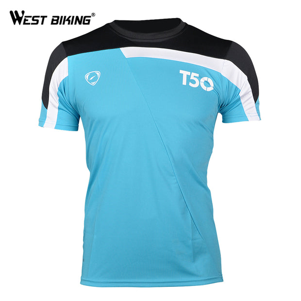 Cycling Jersey Quick Dry Breathable Summer Men T-Shirts Sport Soccer