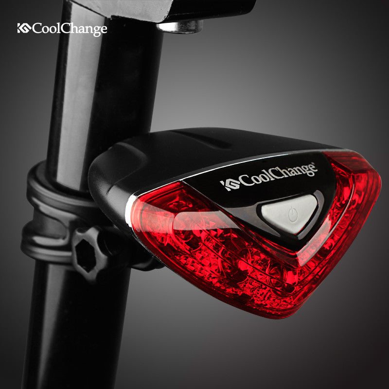 CoolChange Bike Bicycle Cycling Front Rear Tail Red Flash Lights