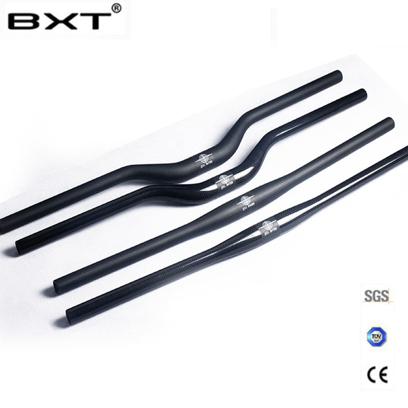 brand BXT carbon fiber bicycle handlebar matt / glossy mountain bike
