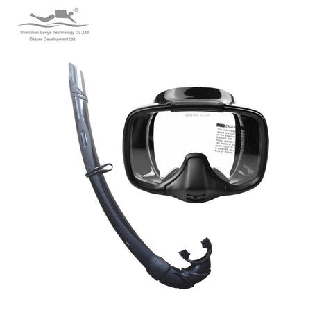 Freeshiping Professional scuba diving  spearfishing semi-dry diving mask snorkeling MS-25519(A)
