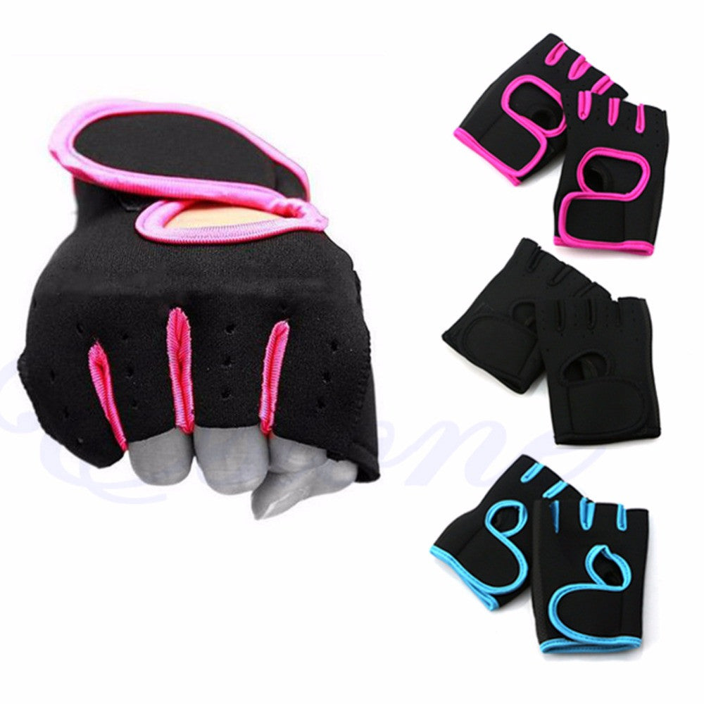 Durable Weight Fitness Gloves Padded Lifting Traning Gym Sports Body