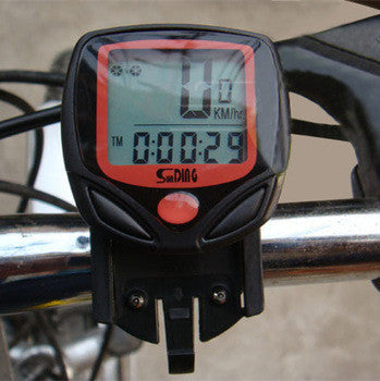 Bicycle Computer Leisure 14-Functions Waterproof Cycling Odometer