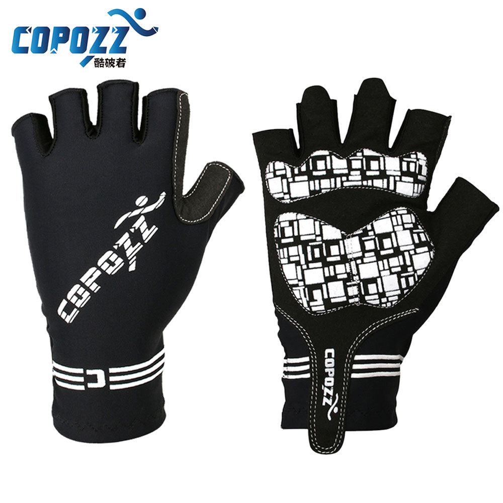 COPOZZ Silicone GEL Half Finger Bike Bicycle Cycling Gloves Slip for