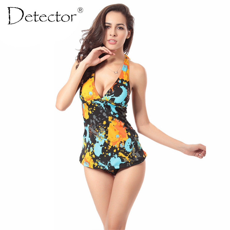 Detector TOP qualityl  Women Bodysuit Sexy High Cut Two  Piece