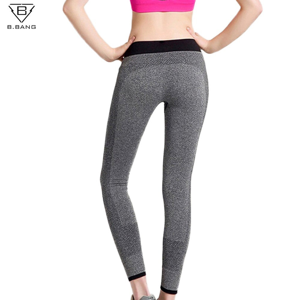 B.BANG Womens Sport Tights for Running Training Fitness Joggings Gym