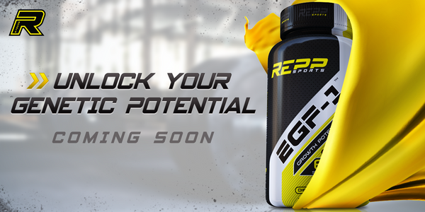 REPP Sports teases its NEW muscle builder EGF-1