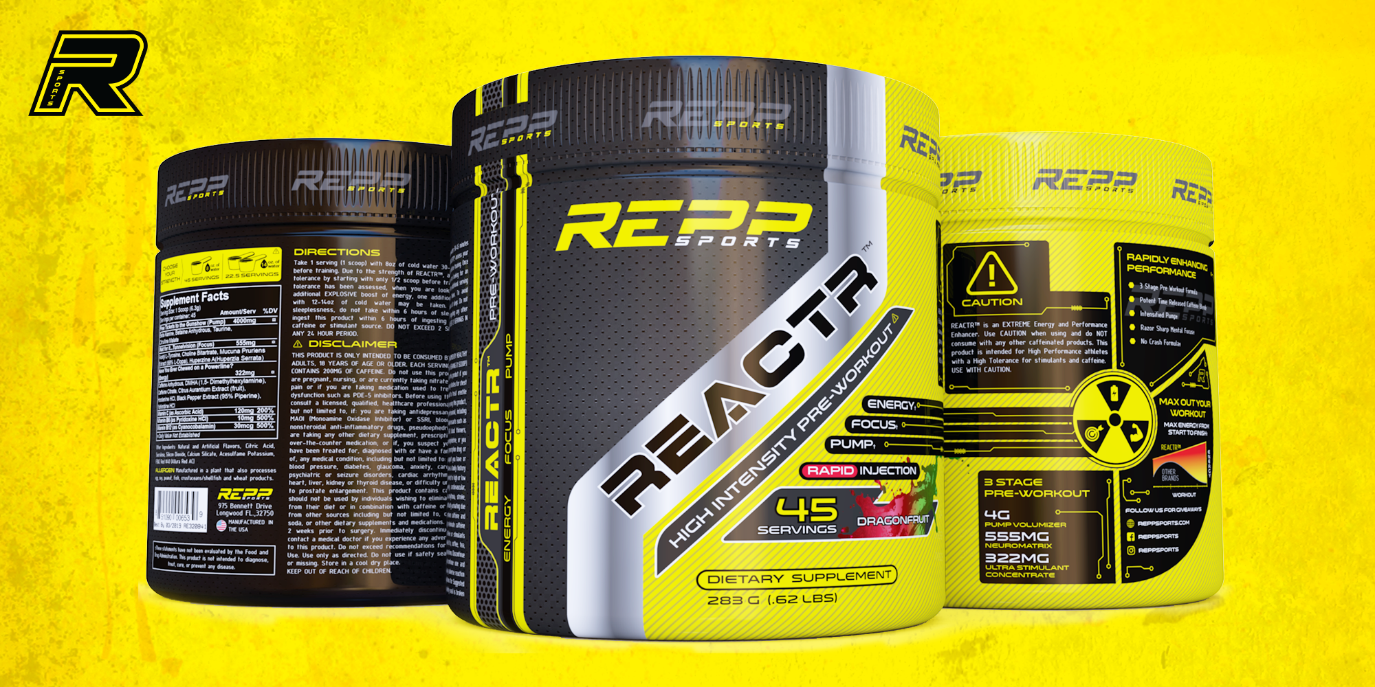REPP Reactr Review: Pre-workout perfect for stim addicts