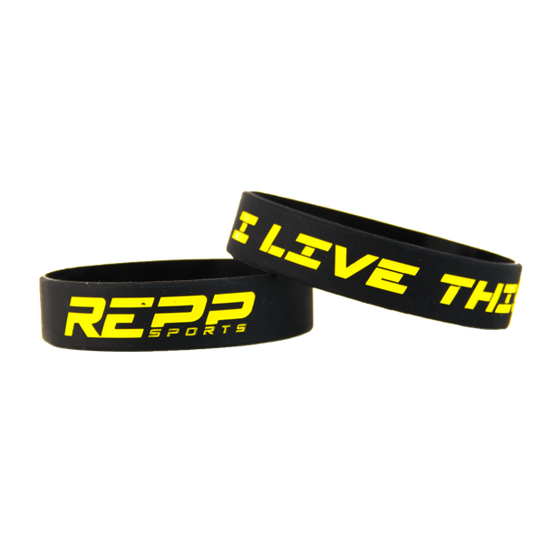 We Live This Repp Sports Bracelet