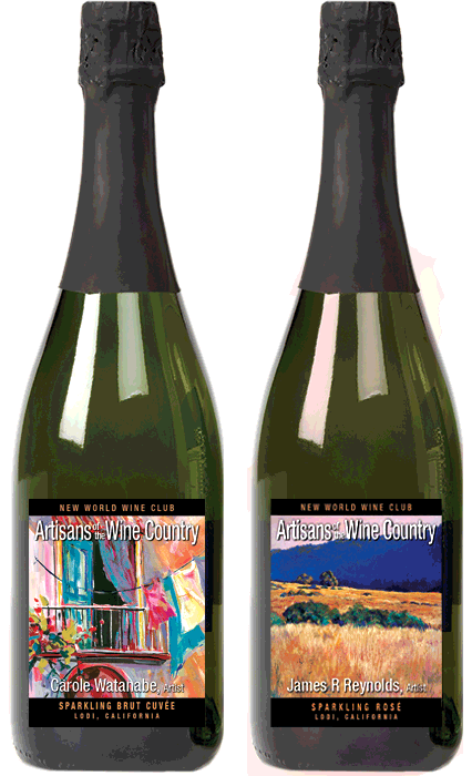 Two Sparkling Wines Gift Package