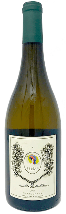 2017 Maison Areion Chardonnay, Santa Cruz Mountains