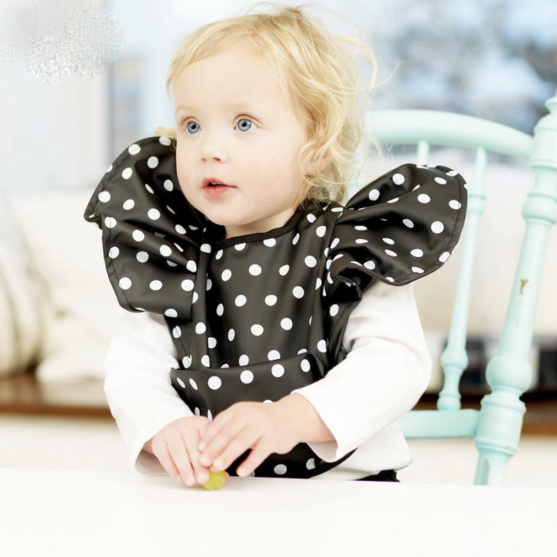 Baby bib Rice pocket with waterproof fabric fashion bib for baby